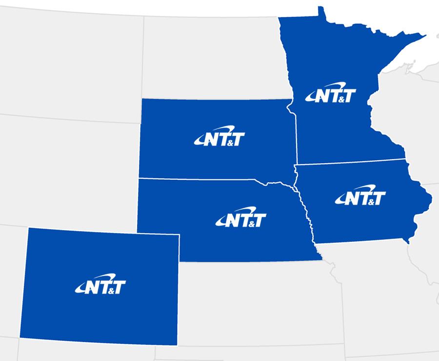 NTT Service Map
